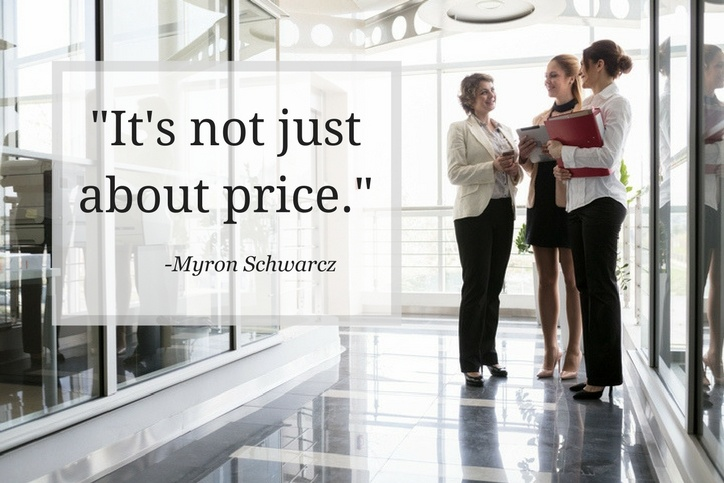 -It's not just about price.-